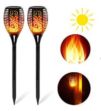 Газонный светильник факел пламя