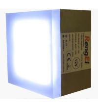 LED Брусчатка светящиеся плитка RengEL 90*90*60 1,8W 12V IP 68 Белый холодный