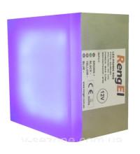 Светодиодная тротуарная плитка RengEL 90*90*60 3,5W 12V IP 68 RGB