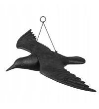 Отпугиватель птиц ворон в полете