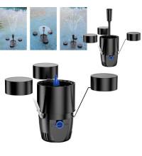 Плавающий скиммер фонтан для пруда с подсветкой SunSun CSP-250 LED
